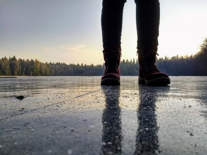 Wat als je door het ijs zakt