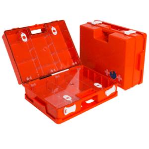Lege EHBO-koffers
