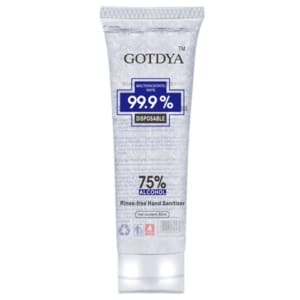 Desinfecterende handgel 75% alcohol 80 ml