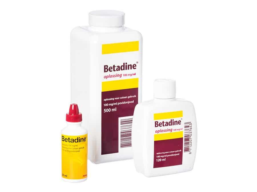 Betadine jodium