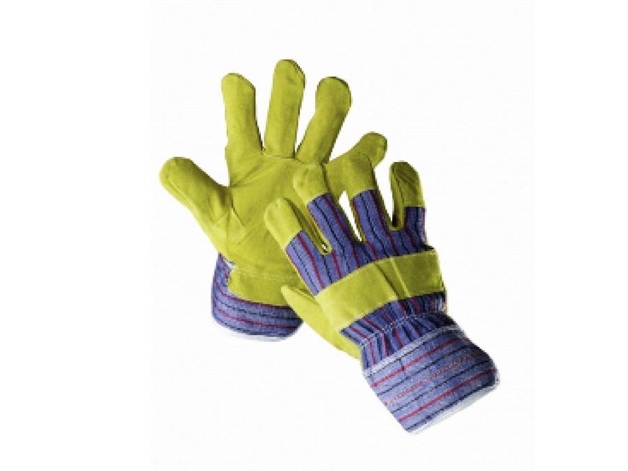 Handschoen varkenssplit ongevoerd